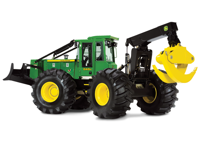 848H Grapple Skidder