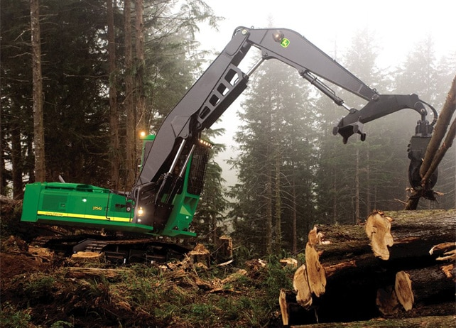 3754D Forestry Swing Machine