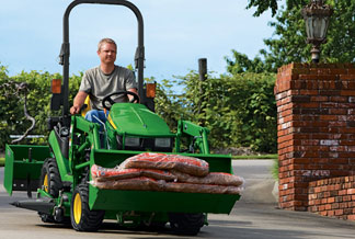 Utility Tractors Attachments from John Deere