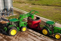 High-capacity hydraulics for high-demand chores