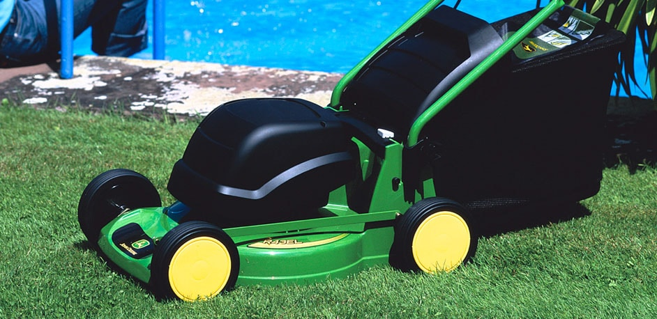 John Deere Electric Walk Behind Mower