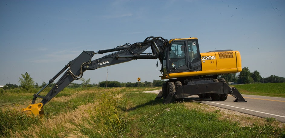 Excavators from John Deere