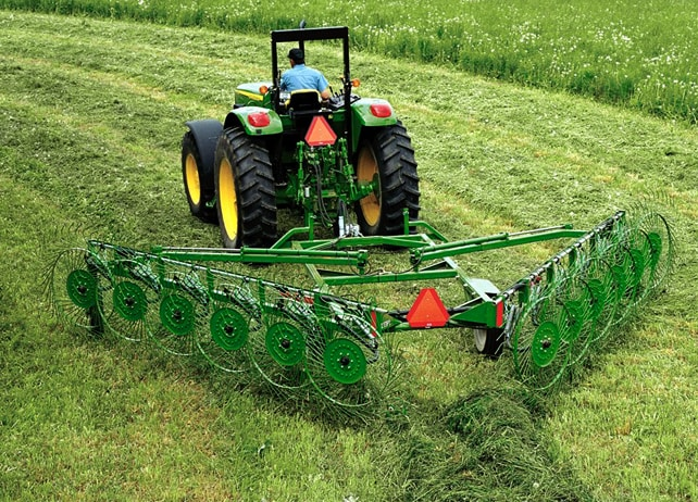 John Deere 851 Hay Rake : New holland round baler related keywords