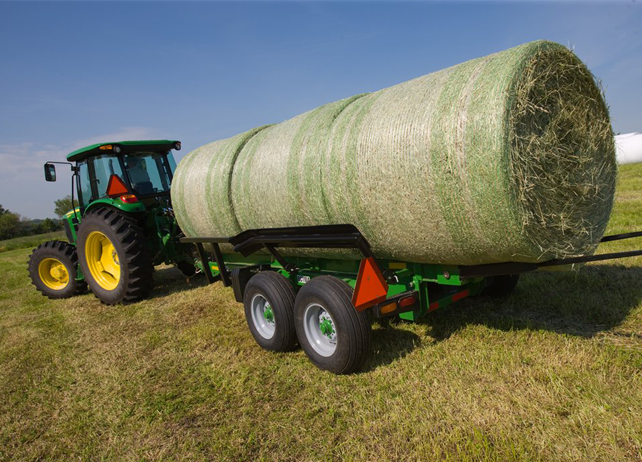 BC11 Series Bale Carrier with three round bales