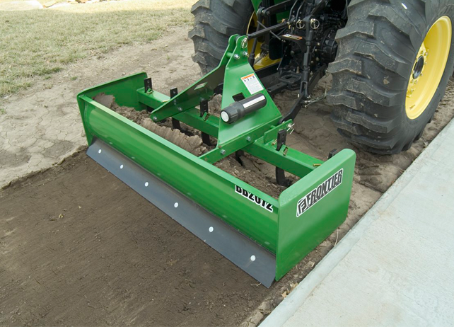 BB20 Series Box Blade smooths dirt for path