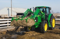 AM11 series manure fork grapple