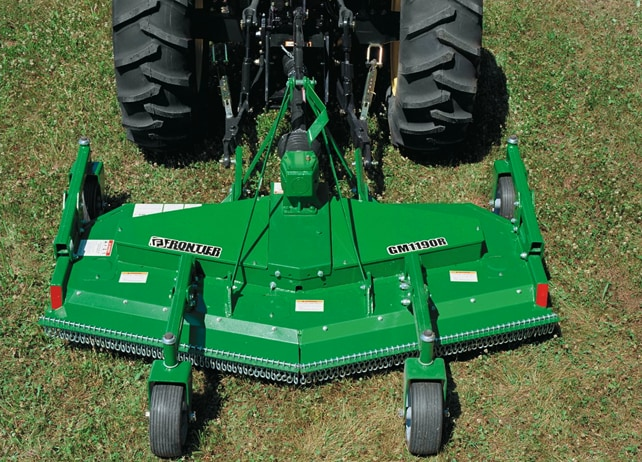 Evergreen Implement Grooming Mowers