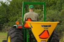 Frontier SS20 Series Broadcast Spreaders Seeding Attachment