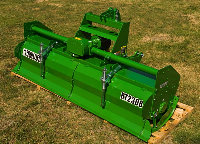 RT23 Series Rotary Tiller in a grassy field