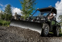 Follow link to Gator Utility Vehicles Attachments and Implements online brochure.