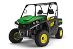 Follow link to the Gator RSX850i (Green & Yellow) Utility Vehicle (MY15) product page.