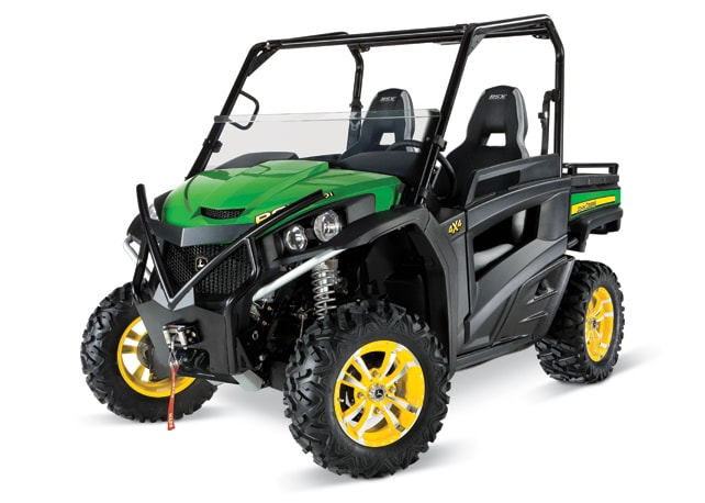 Gator Rsx850i http://www.deere.com/wps/dcom/en_US/products/equipment/gator_utility_vehicles/recreational_utility_vehicles/850i_trail/rsx850i_trail.page