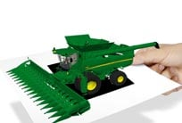 Launch the new harvesting reality from John Deere