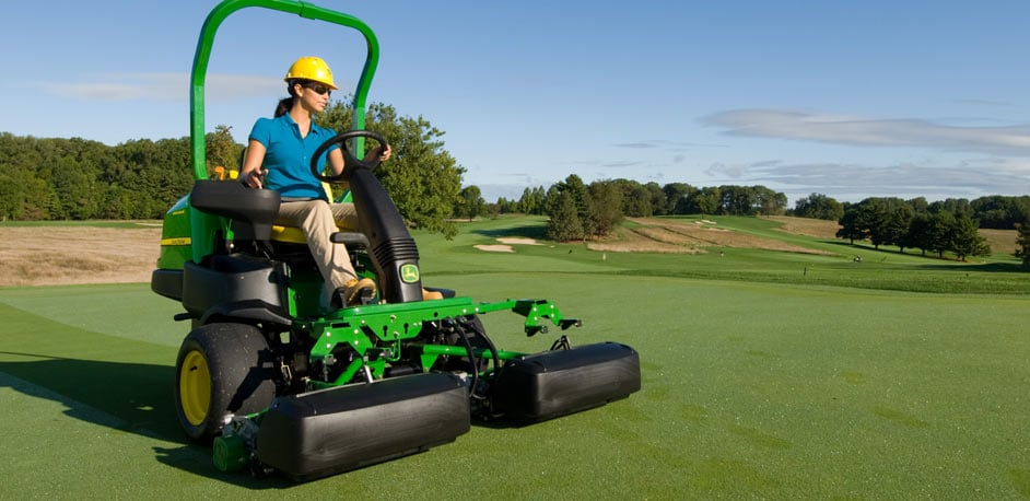 Greens Mowers, Walking and Riding