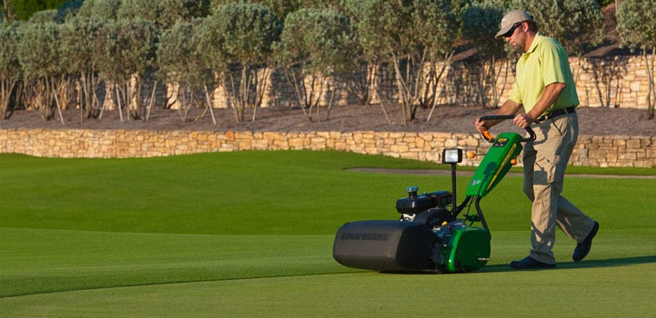 SL PrecisionCut Walk Greens Mowers