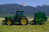 468 Silage Special 8 Series Round Balers