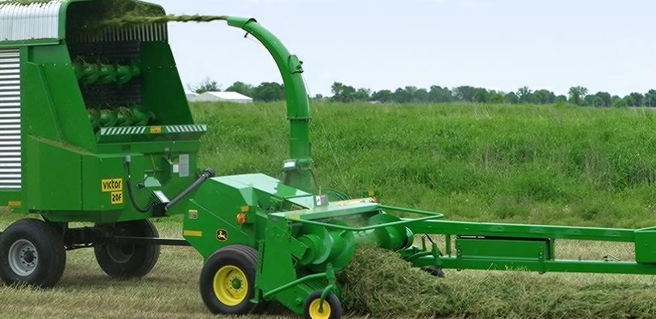 Pull- Type Forage Harvesters