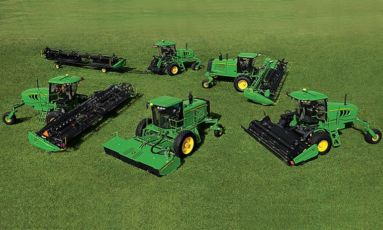 Self-Propelled Hay Windrowers