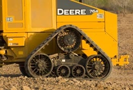 High-speed dozer tracks