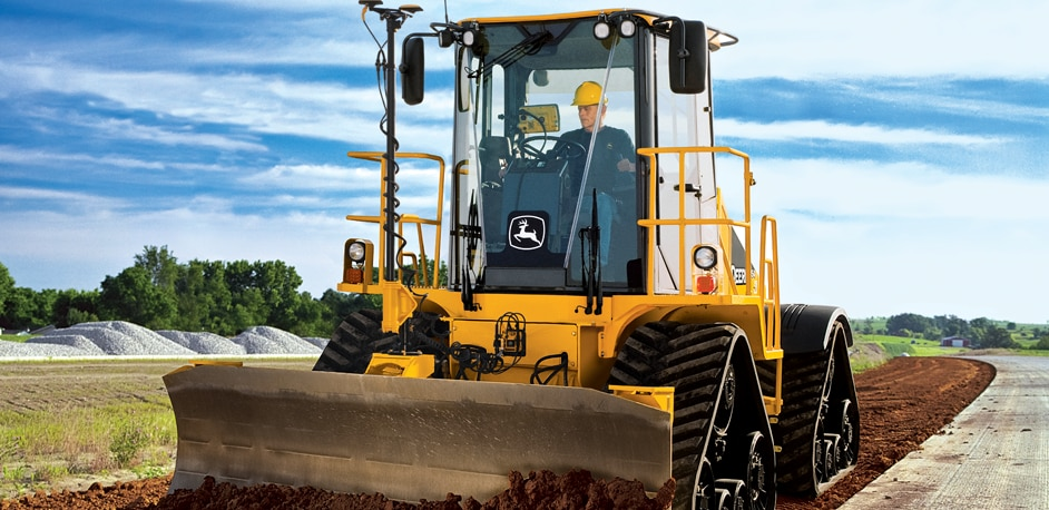High-Speed Dozers from John Deere