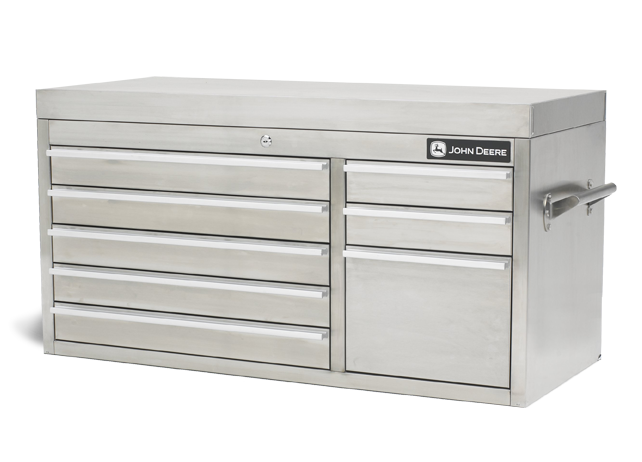 AC-4100TC-T 41-inch, 8-Drawer Stainless Steel Tool Chest