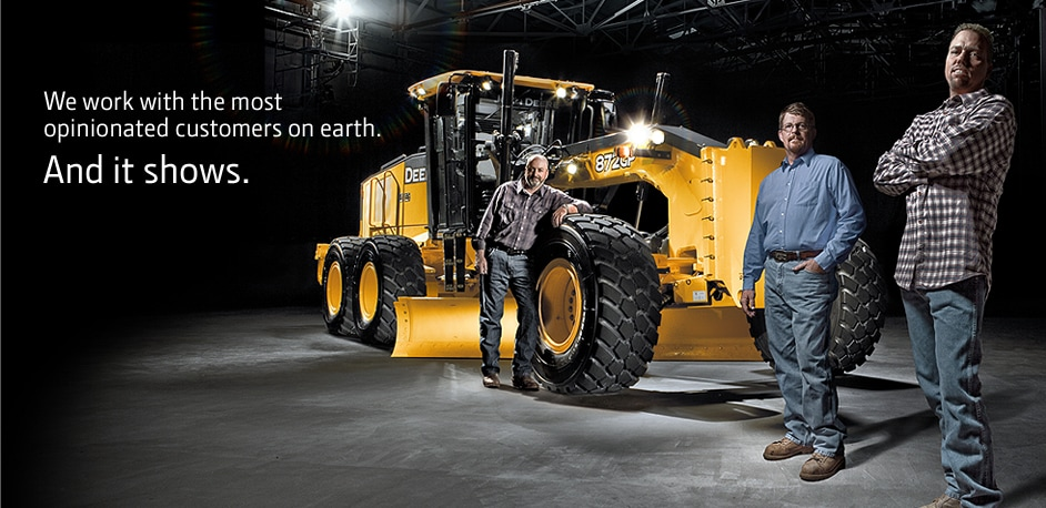 New IT4 G-Series Graders