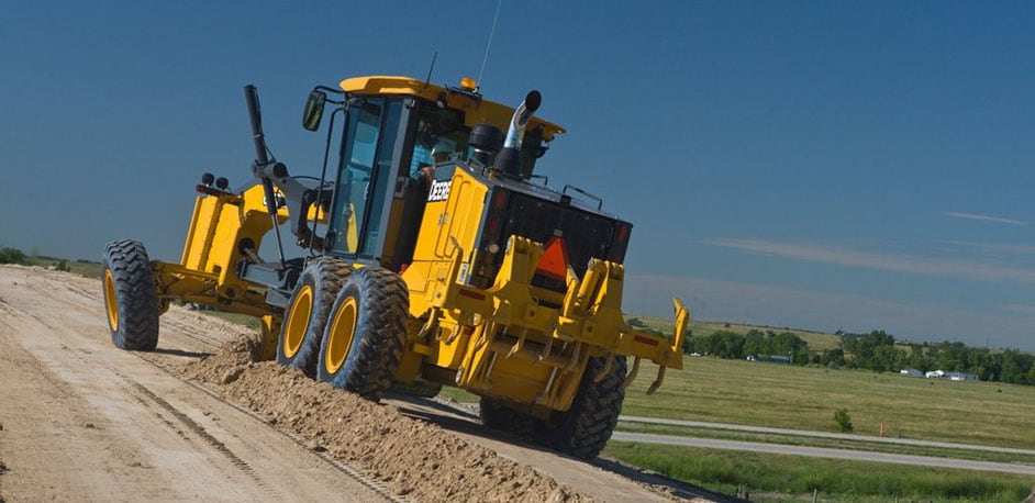 Motor Graders from John Deere