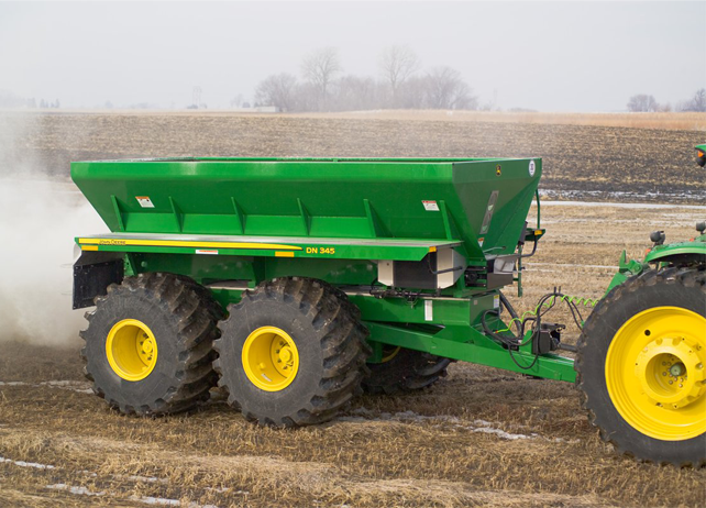 DN345 Drawn Dry Spreader