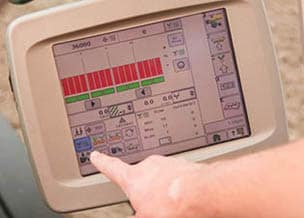 Close up image of Deere's SeedStar™ XP Monitoring System