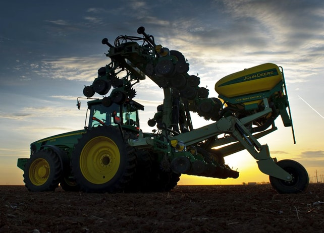 16Row40 Custom-Built Integral Planter Planting and Seeding Equipment