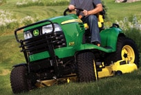 Follow this link to the John Deere Riding Mowers page.