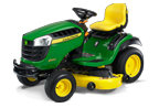 Follow link to the D160 Lawn Tractor product page.