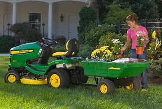 Riding Mowers Attachments from John Deere