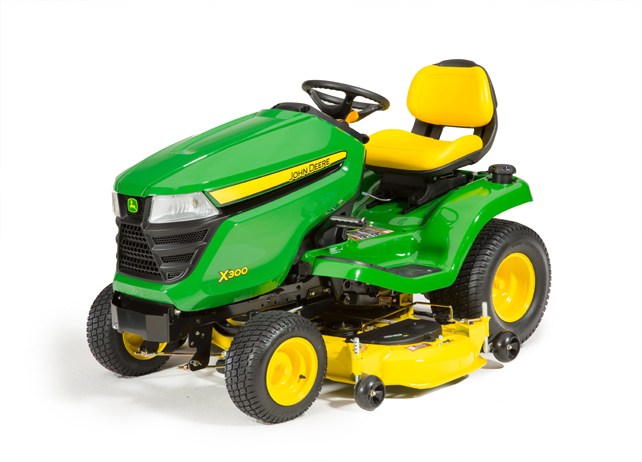 X300 Tractor with 48-inch Deck (2015)