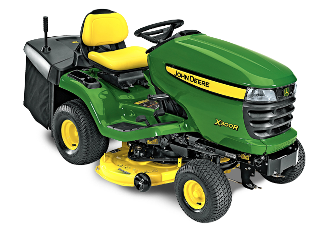X300R Tractor with 42-inch Rear-Discharge Deck (2015)