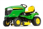 Follow link to the X304 Tractor, 42-inch deck (2015) product page.