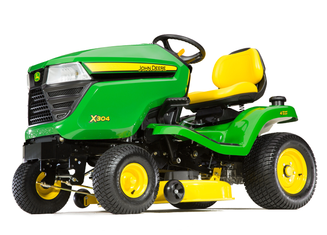 X304 Tractor with 42-inch Deck (2015)
