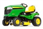 Follow link to the X324 Tractor, 48-inch Deck (2015) product page.