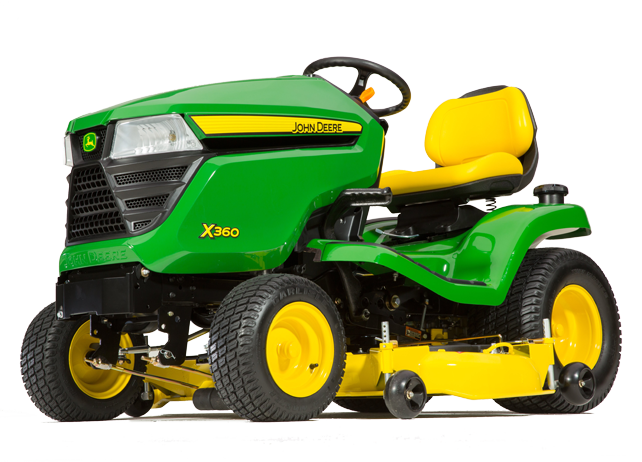 X360 Tractor with 48-inch Deck (2015)