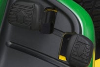 Close-up image of Twin Touch pedals