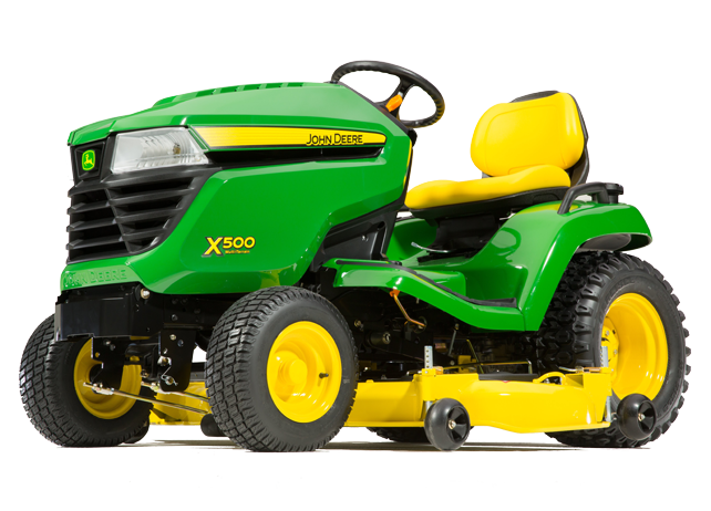 X500 Multi-Terrain™ Tractor with 54-inch deck (2015)