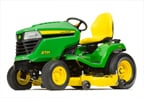 Follow link to the X534 Multi-Terrain Tractor Less Mower Deck product page.