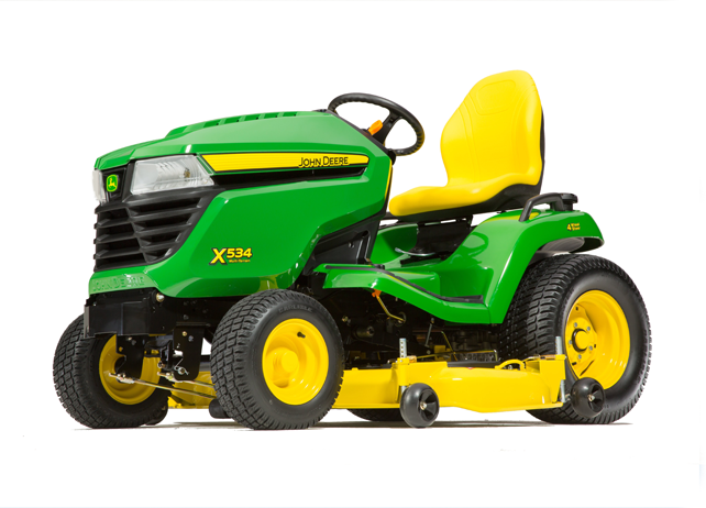 X534 Multi-Terrain Tractor with 48-or 54-inch Deck (2015)