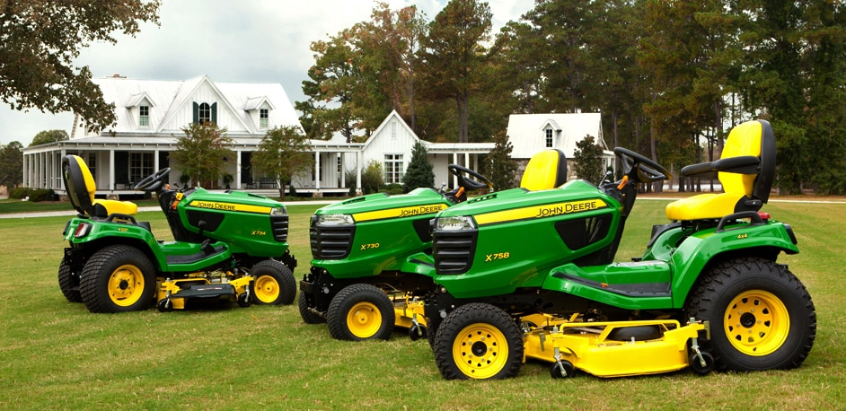 Introducing the All New X700 Signature Series Tractors