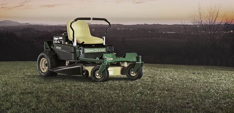 Introducing the new Z235 EZtrak™ mower.