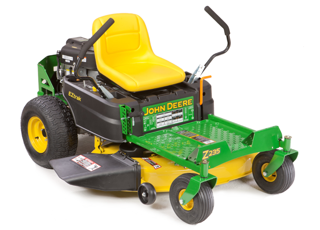 Turning Radius Jd 4555 : First buy looking to deere or husq hoping for help