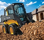 Skid steer removing dir