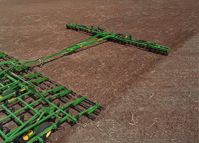 200 Seedbed Finisher in a field