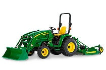 Image of a John Deere 3720 Compact Utility Tractor