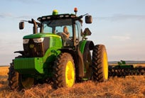 Follow this link to view the full line-up of John Deere tractors.